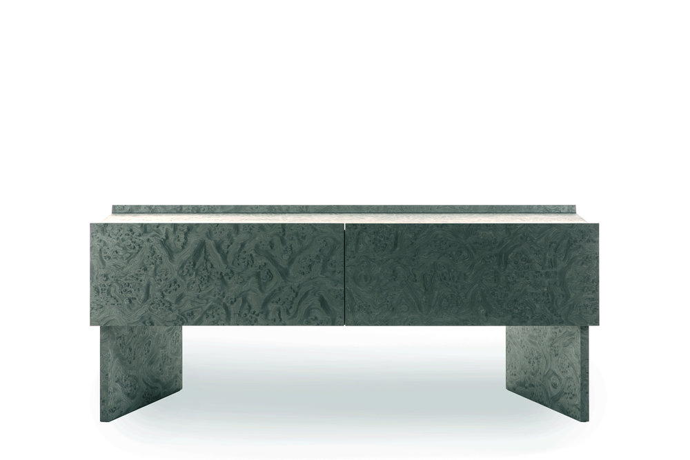 Hayama console  designed by  Patricia Urquiola  for  Cassina . Photo © Cassina.