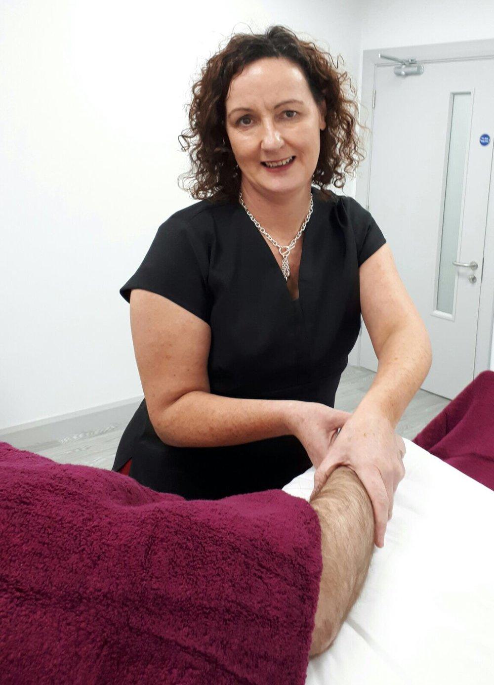 Elaine McDermott - Lymphoedema Therapist