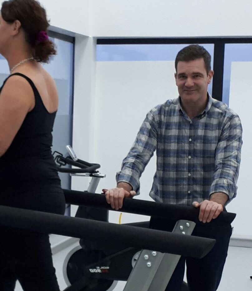 Stephen mcnally, musculoskeletal physiotherapist, strive clinic killybegs