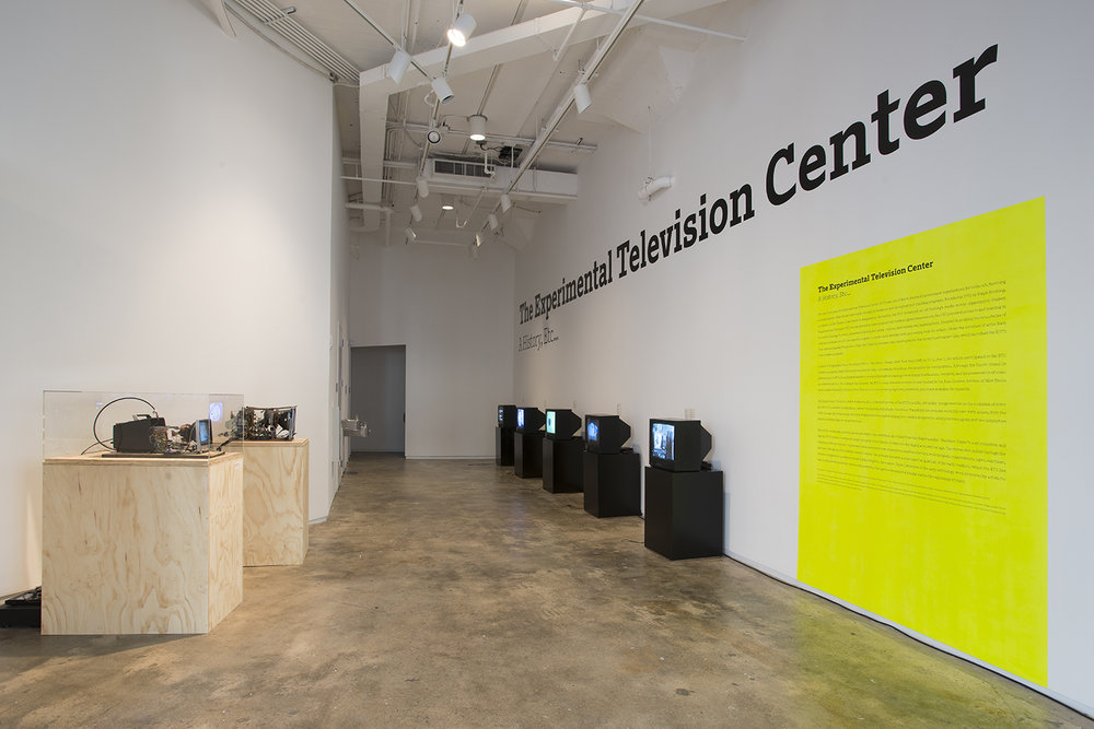 The Experimental Television Center: A History, 205 Hudson Gallery