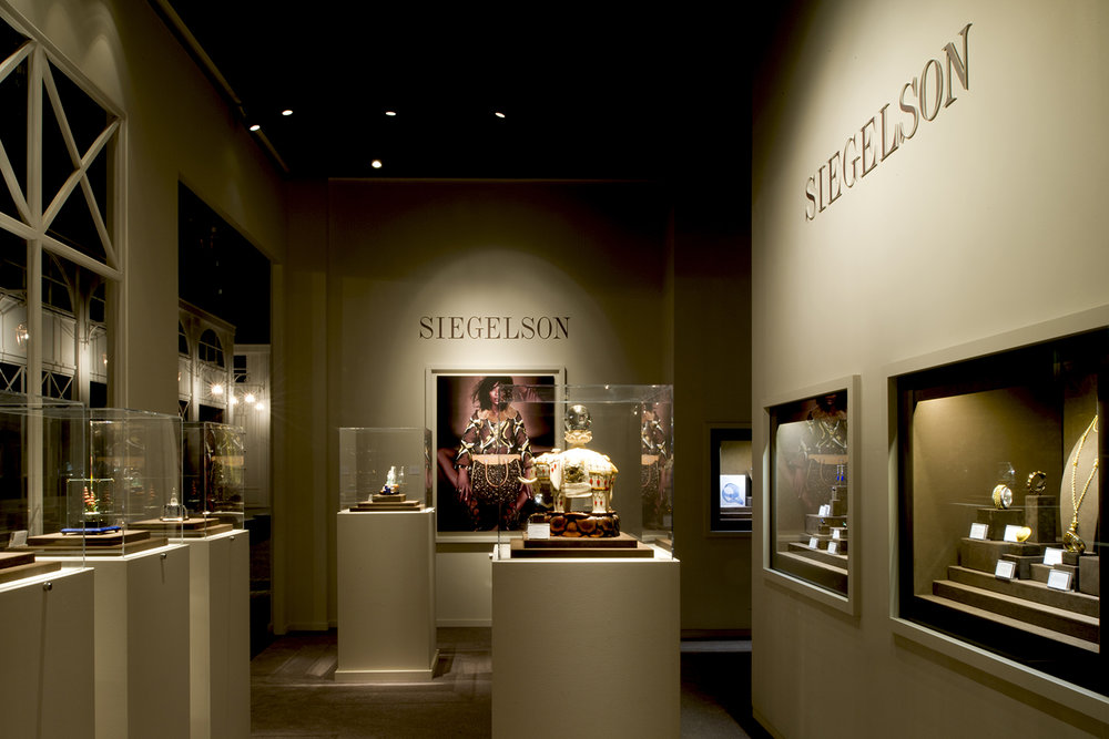 Siegelson Diamonds New York, Paris Biennale, Trade Fair