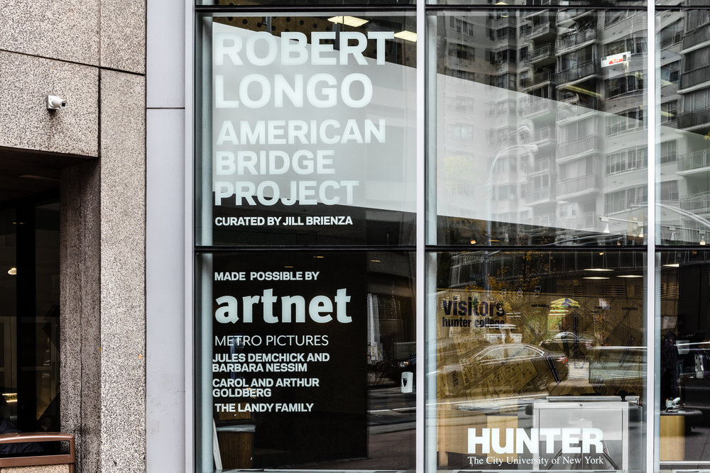 Robert Longo: American Bridge Project, Hunter College