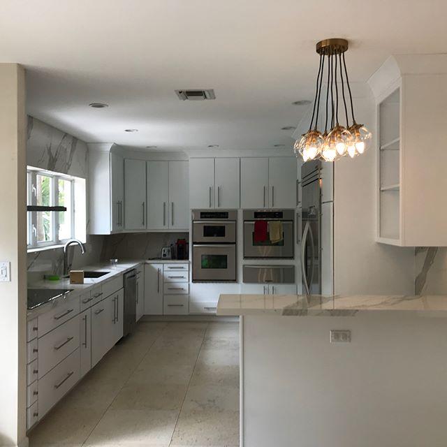 Kitchen Remodel in Coral Gables, FL #kitchenremodel #kitchendecor #kitchendesign