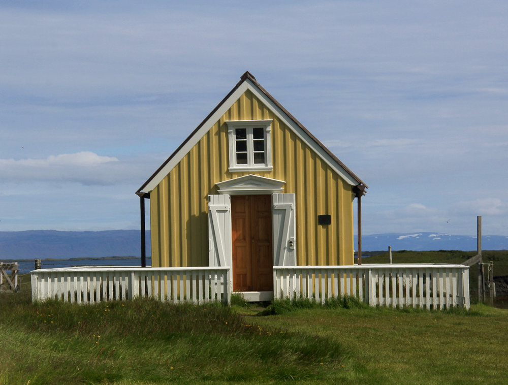 ©Susan Mathews, The Oldest Library in Iceland