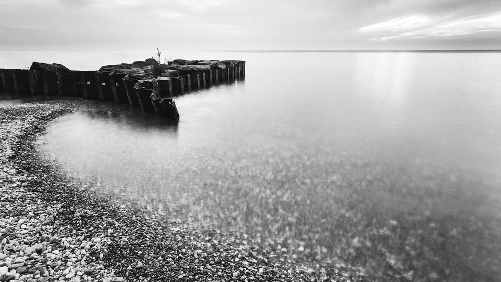 Fig 5. Bulkhead, Saint Joseph, Michigan 2016. Exposure: 8 sec F8