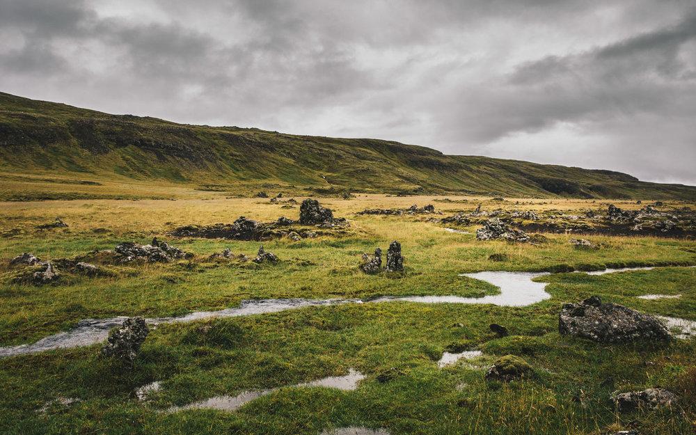 Fig 7. Snæfellsnes Peninsula