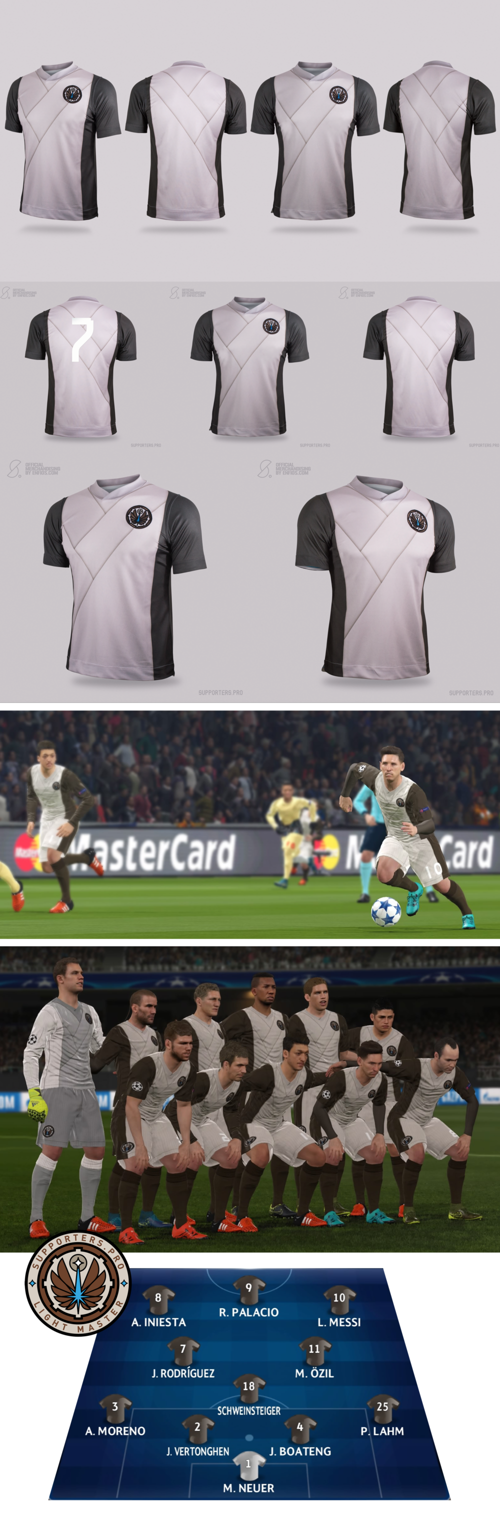 Ligth Master Soccer Wars