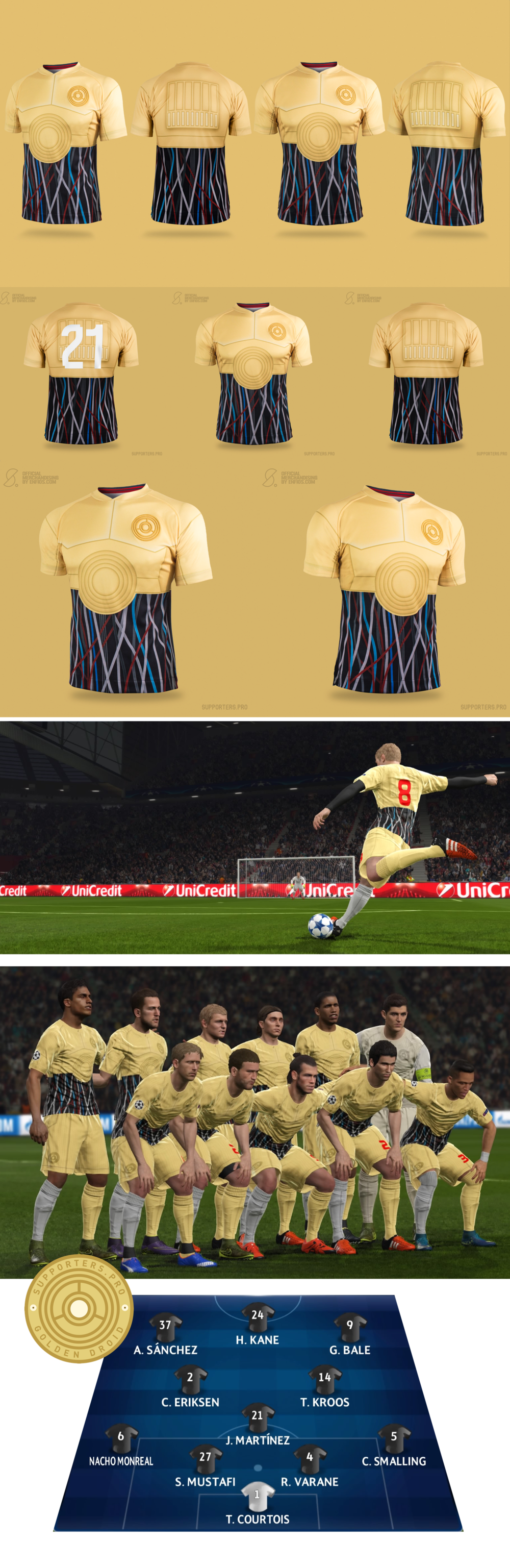 Golden Droid soccer wars