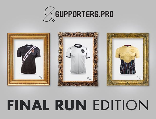 Soccer Wars are back! Run to http://supporters.pro/jersey-shop/?category=Soccer+Wars #supporterspro #soccerwars #starwarsfans #rogueonefans