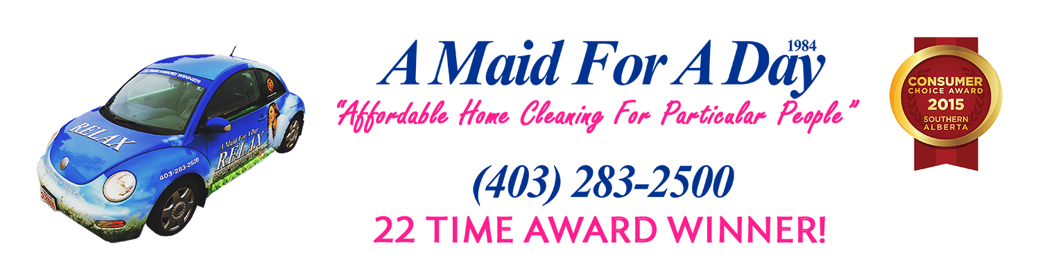 A Maid For A Day | House Cleaning | Cleaning Services Calgary