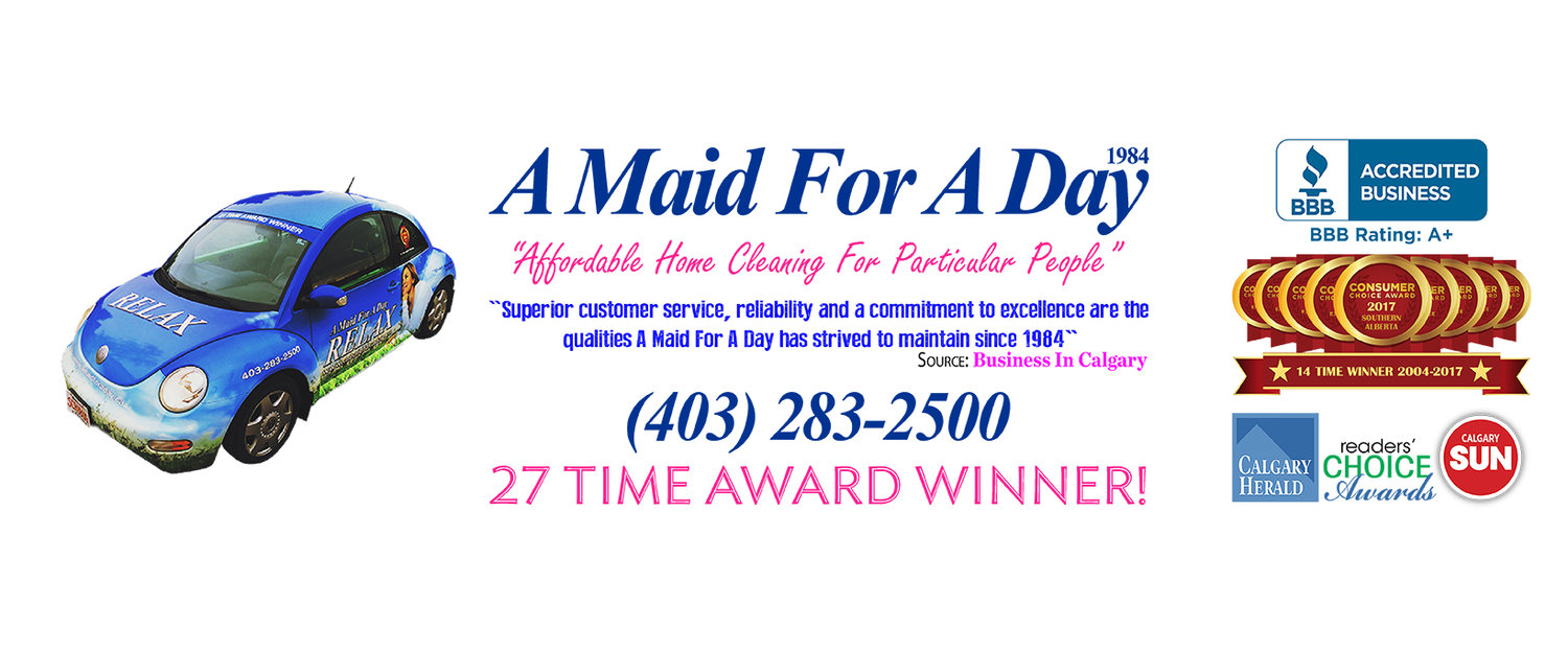 A Maid For A Day | House Cleaning | Award Winning Maid Service