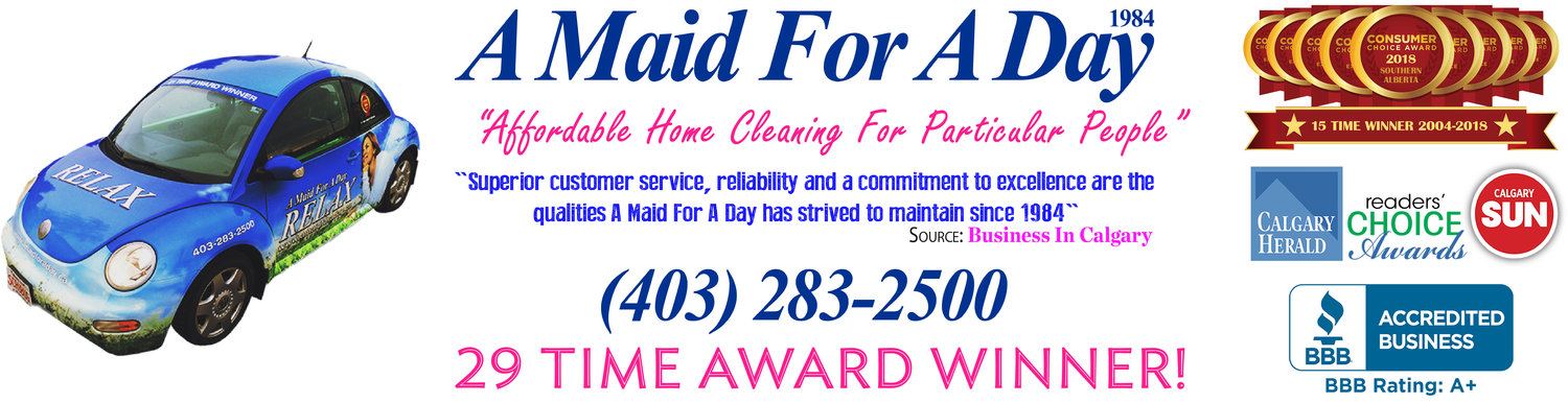 A Maid For A Day | Local Calgary Maid Service | House Cleaning Services