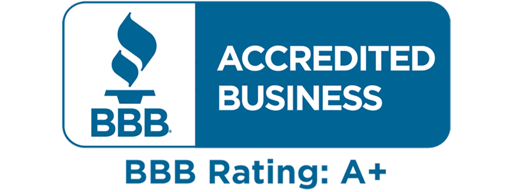 click for information on our accreditation and rating on the bbb websiite