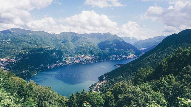 Not long now until we get to shoot at this beautiful lake  #lakecomo . . . . . . . #destinationwedding #travel #travelphotography #travelblogger #wedding #whitemagazine #landscape #lake #bautiful #italy #Europe