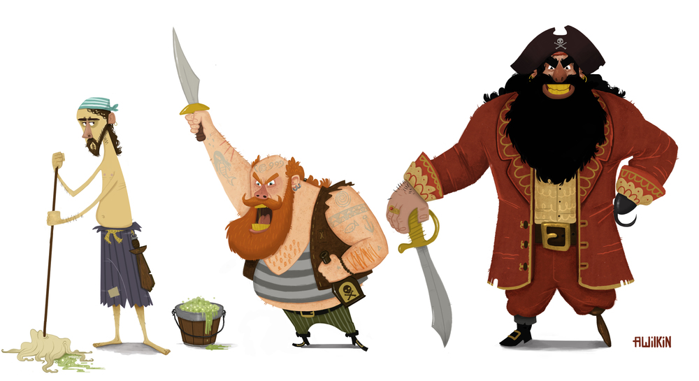 Pirate Line Up