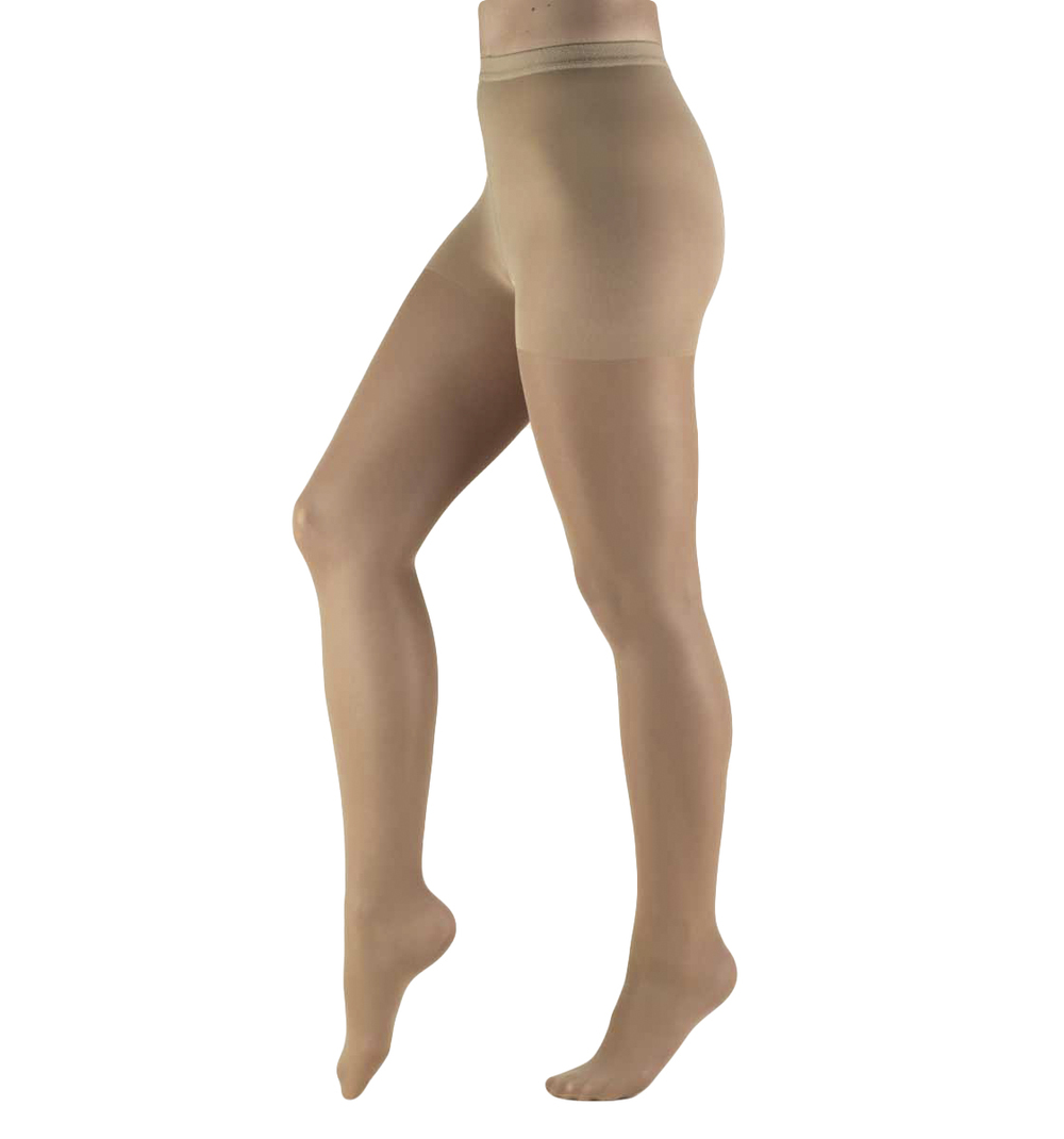 Truform, 1765, 8-15 mmHG, Lites, Pantyhose, Beige, Compression Stockings