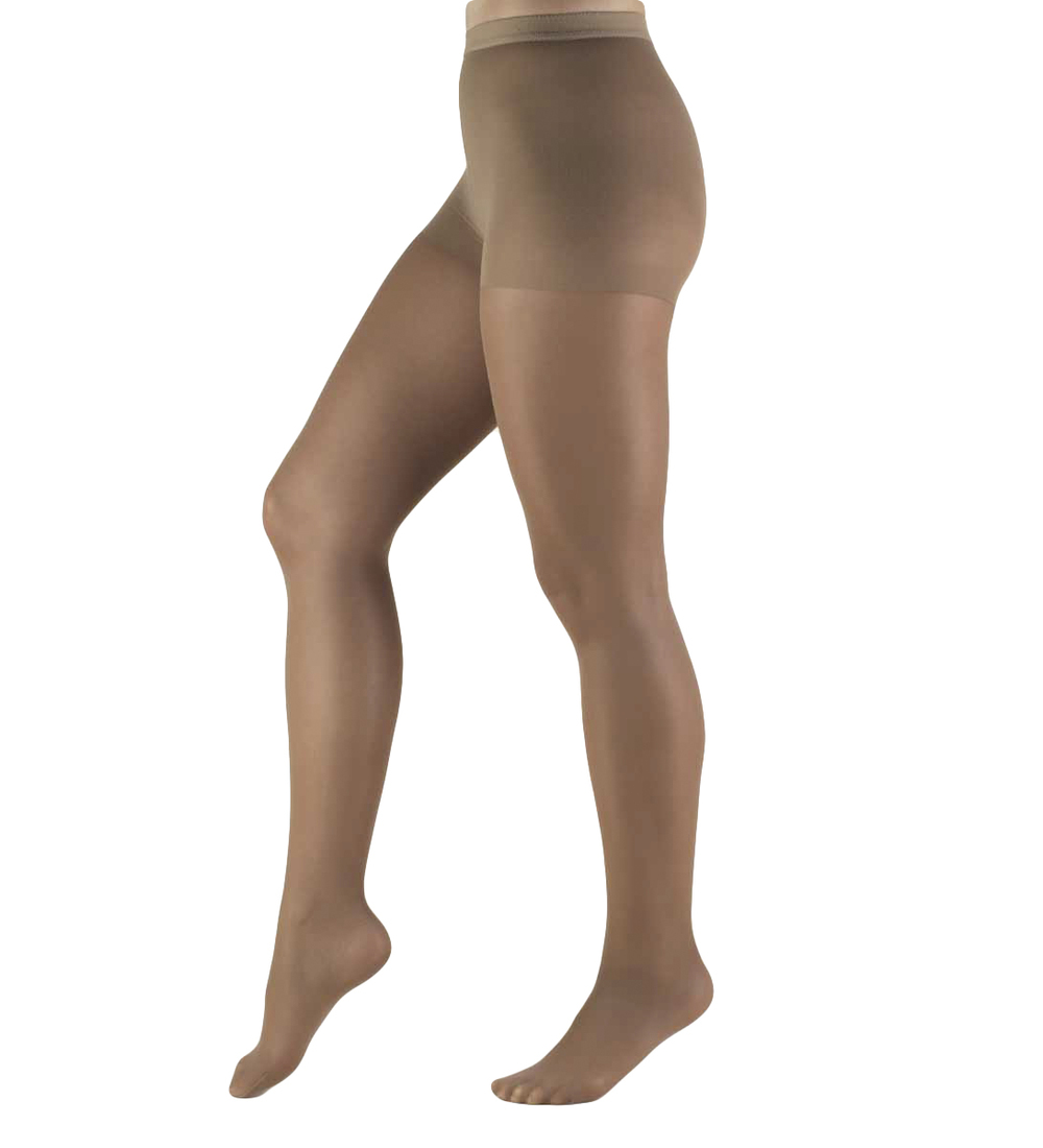 Truform, 1765, 8-15 mmHG, Lites, Pantyhose, Taupe, Compression Stockings