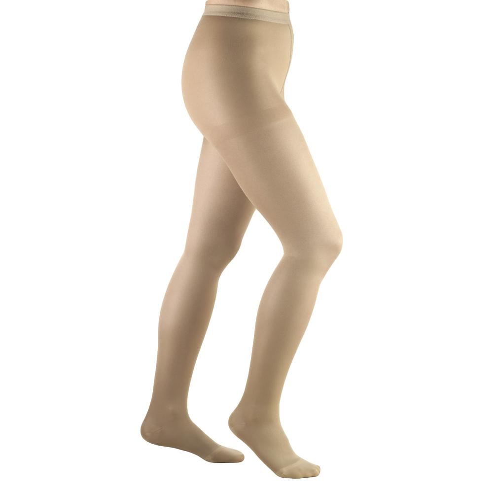 Truform, 0365, 20-30 mmHg, Opaque, Pantyhose, Beige, Compression Stockings