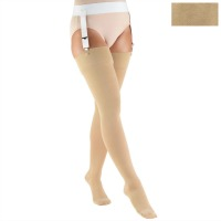 8866 / THIGH HIGH-SOFT TOP, CLOSED TOE / 20-30 MMHG