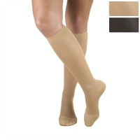 373 / OPQUE KNEE HIGH CLOSED TOE / 15-20 MMHG