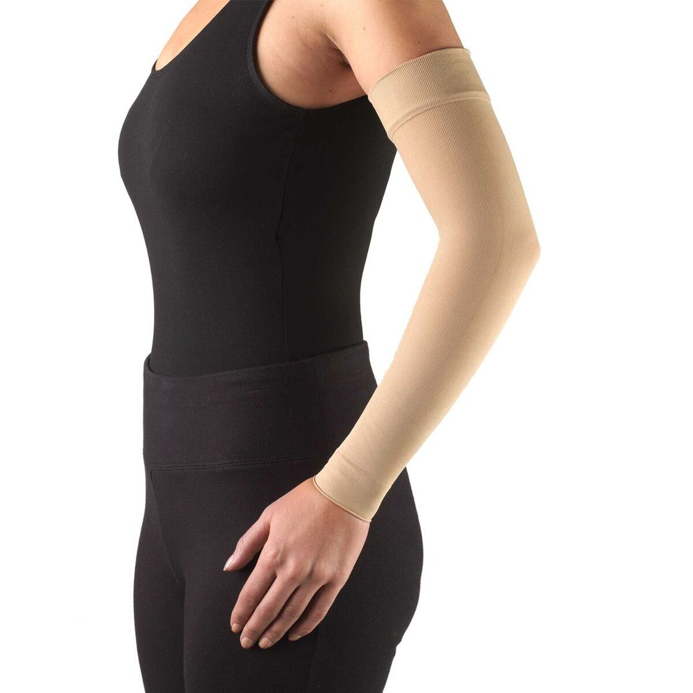 Truform, 3325, 20-30 mmHg, Ready-To-Wear, Arm Sleeve, Beige