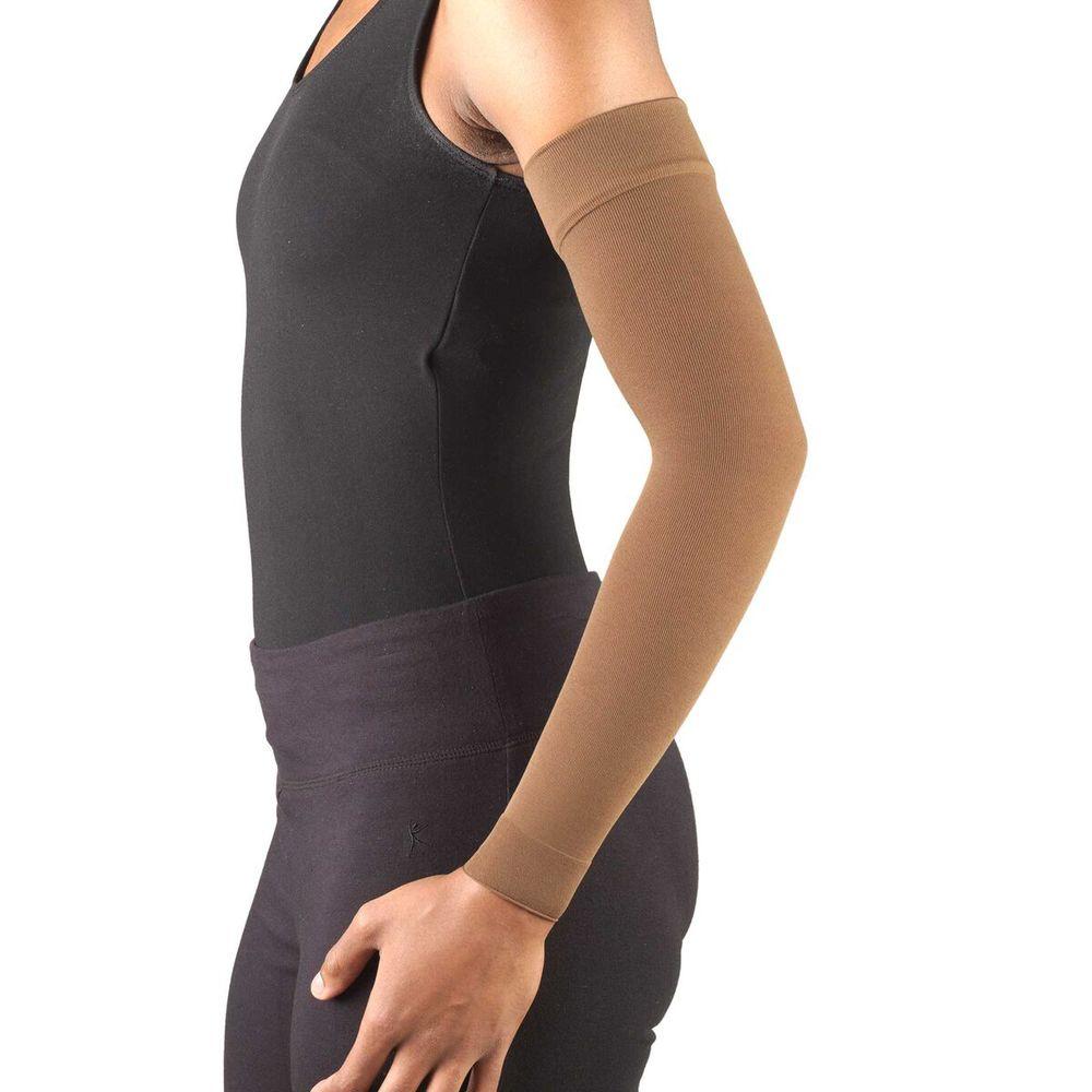 Truform, 3325, 20-30 mmHg, Ready-To-Wear, Arm Sleeve, Brown