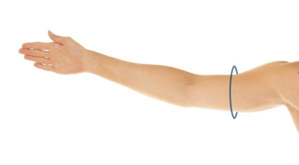 MID - UPPER ARM
