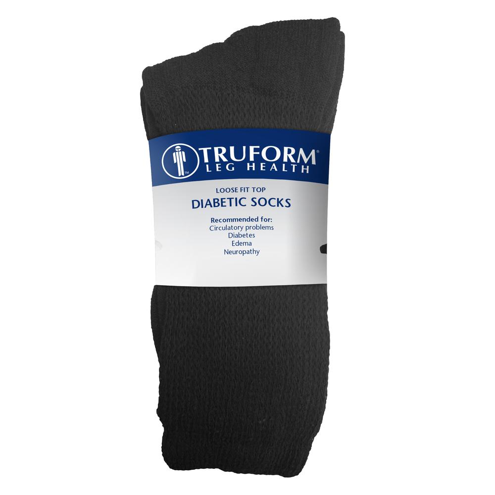 Truform, 1918, Diabetic Crew Length, Loose Fit Top, Package