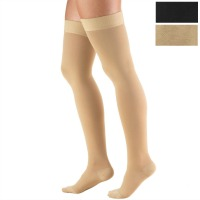 8848 / THIGH HIGH SILICONE DOT TOP, CLOSED TOE / 30-40 MMHG