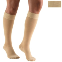 8864 / KNEE HIGH-SILICONE DOT TOP, CLOSED TOE / 20-30 MMHG