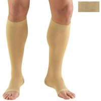 0845S / KNEE HIGH SOFT TOP, OPEN TOE, SHORT / 30-40 MMHG