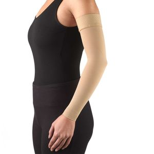Truform, 3326, 20-30 mmHg, Ready-To-Wear, Silicone Dot-Top, Arm Sleeve, Beige