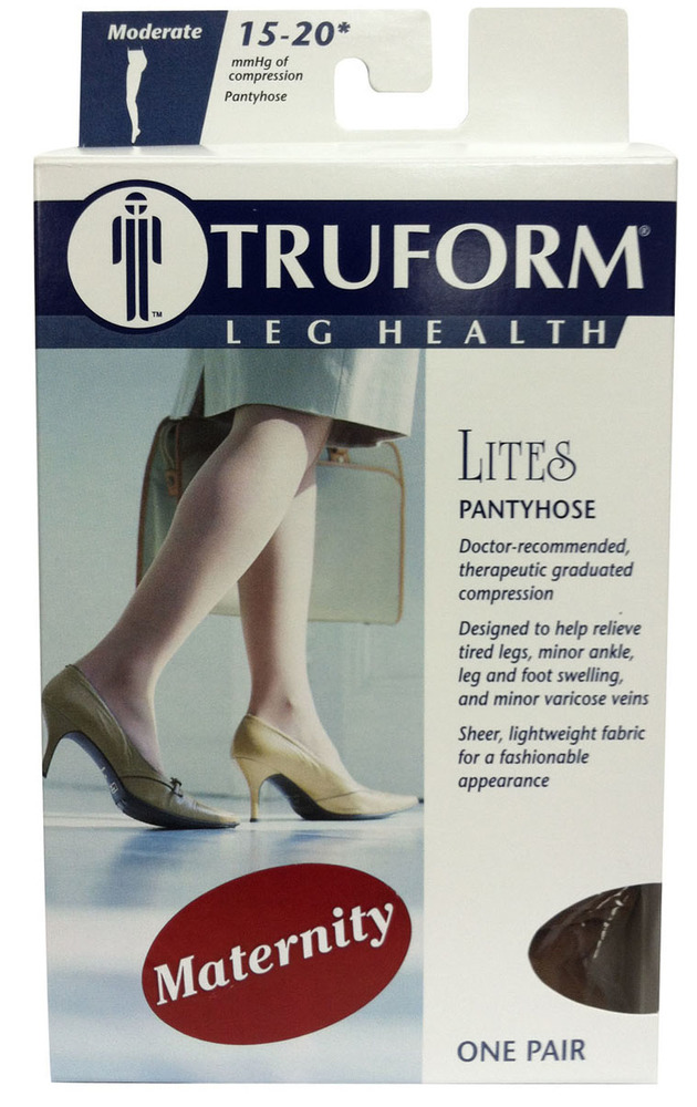 1777 / SHEER MATERNITY-STYLE PANTYHOSE / 15 - 20 MMGH PACKAGING IMAGE