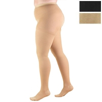 1758 / FULL FIGURE PANTYHOSE / 20-30 MMHG