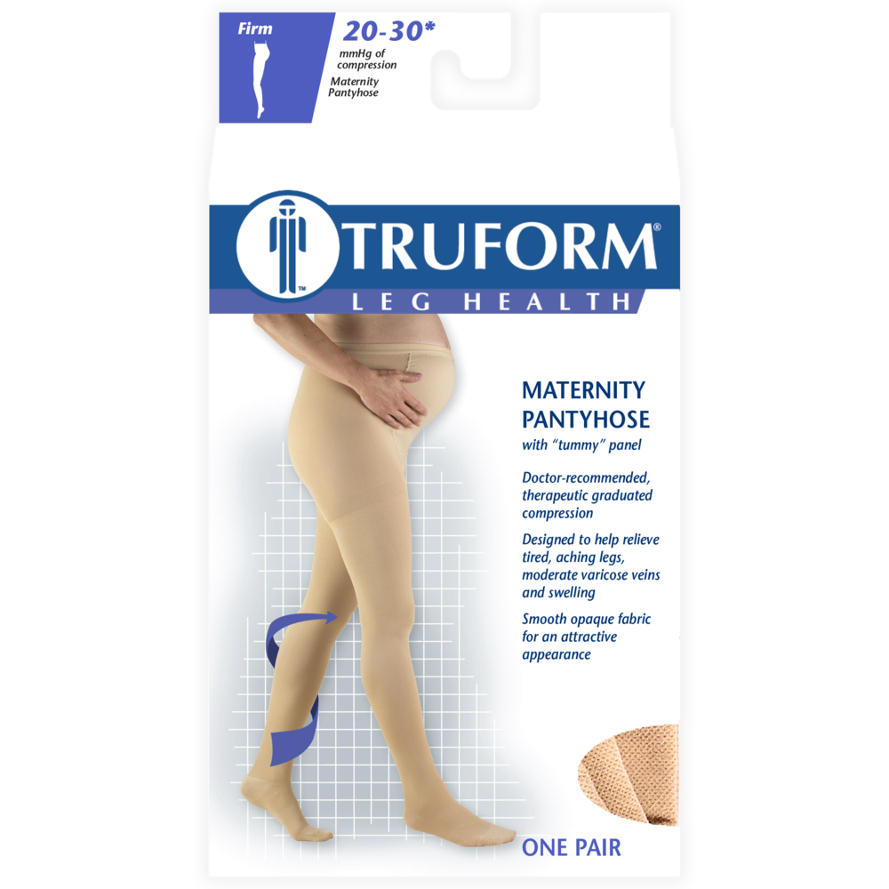 1757 / MATERNITY FIGURE PANTYHOSE / 20-30 MMHG PACKAGING IMAGE