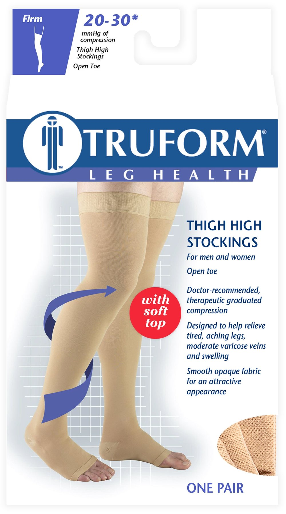 0866 / THIGH HIGH - SOFT TOP, OPEN TOE / 20-30 MMHG PACKAGING IMAGE