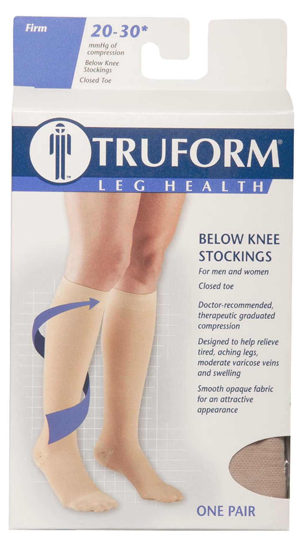 8865 / KNEE HIGH - SOFT TOP, CLOSED TOE / 20-30 MMHG PACKAGING IMAGE