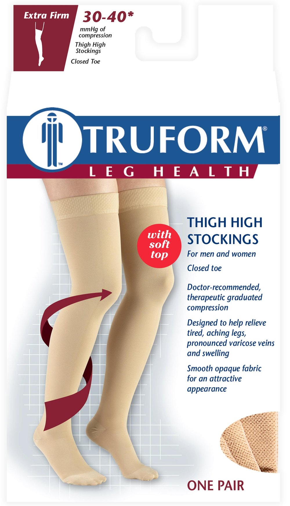 8846 / THIGH HIGH-SOFT TOP, CLOSED TOE / 30-40 MMHG PACKAGING IMAGE