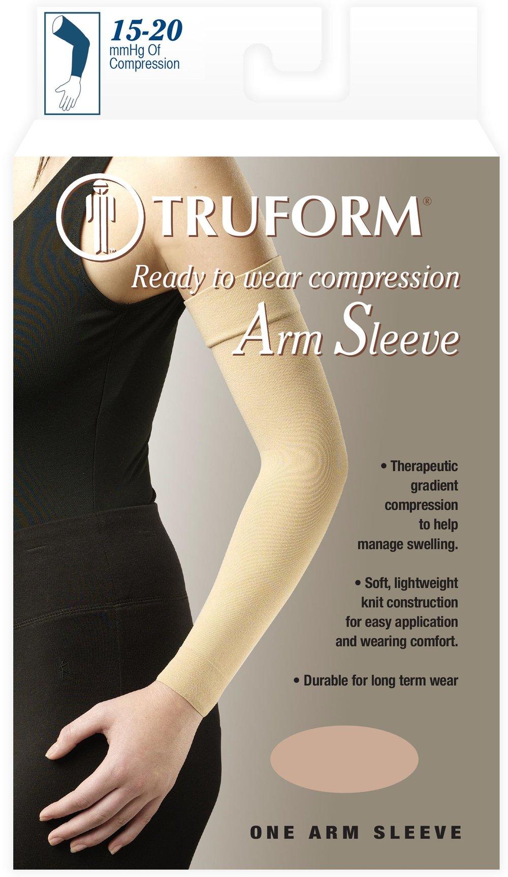 3315 / READY-TO-WEAR ARM SLEEVE, SOFT TOP / 15-20 MMHG