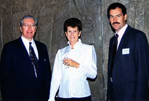 Arnold Huddart, Kath Randle and Mark Hammond (previous Hon Sec)