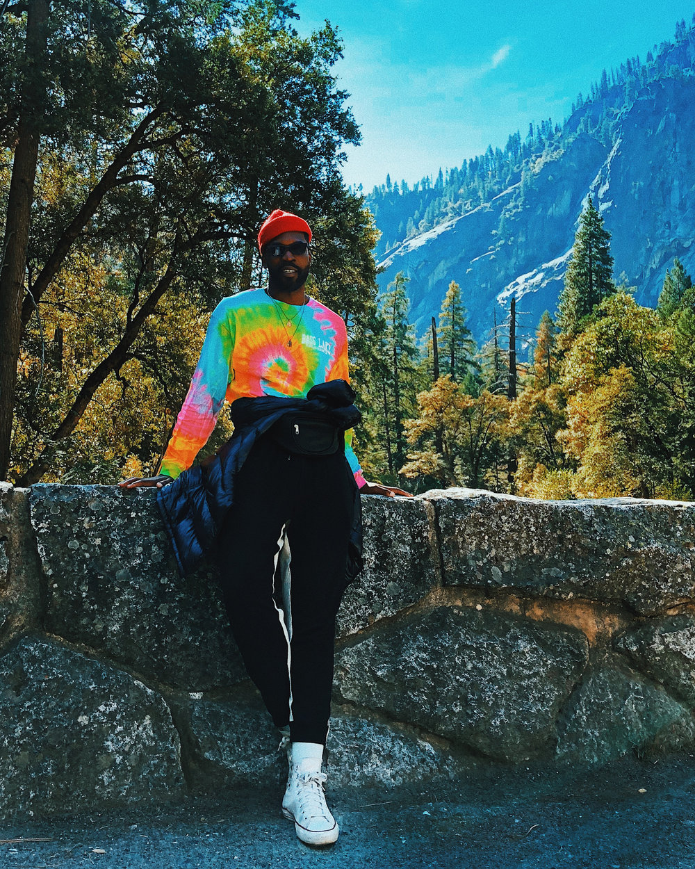 Traveler Feeds His Love For The Outdoors By Conquering Yosemite National Park - Stylist Alexander-Julian (@alexanderjulian) tells Travel Noire about his journey to Yosemite National Park.