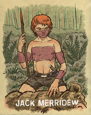 lord of the flies character sketch