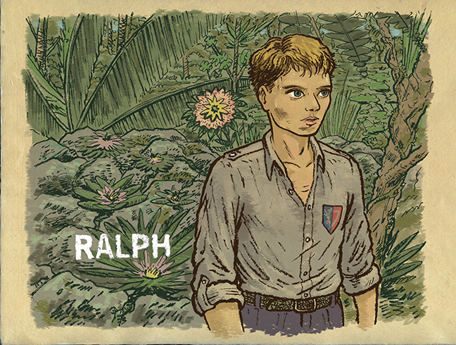 ralph lord of the flies biography Contents[show] physical appearance in the book, ralph is described as a boy  about twelve years old with fair hair you could see now that he might make a.