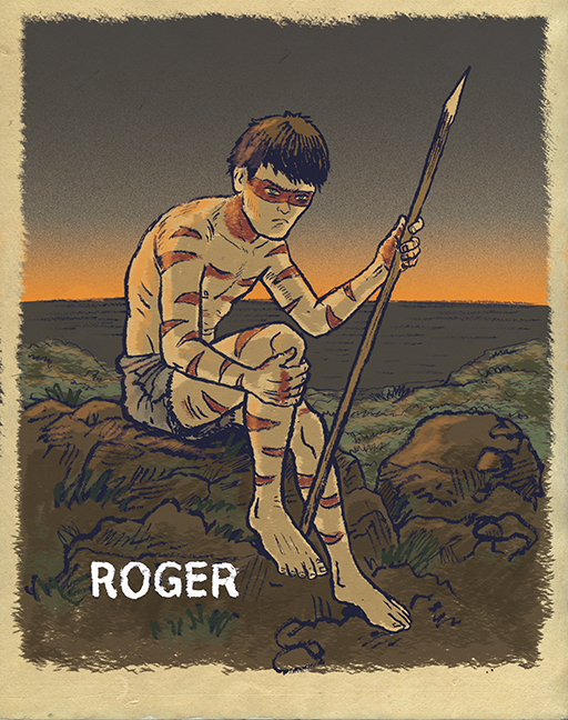 lord of the flies roger character