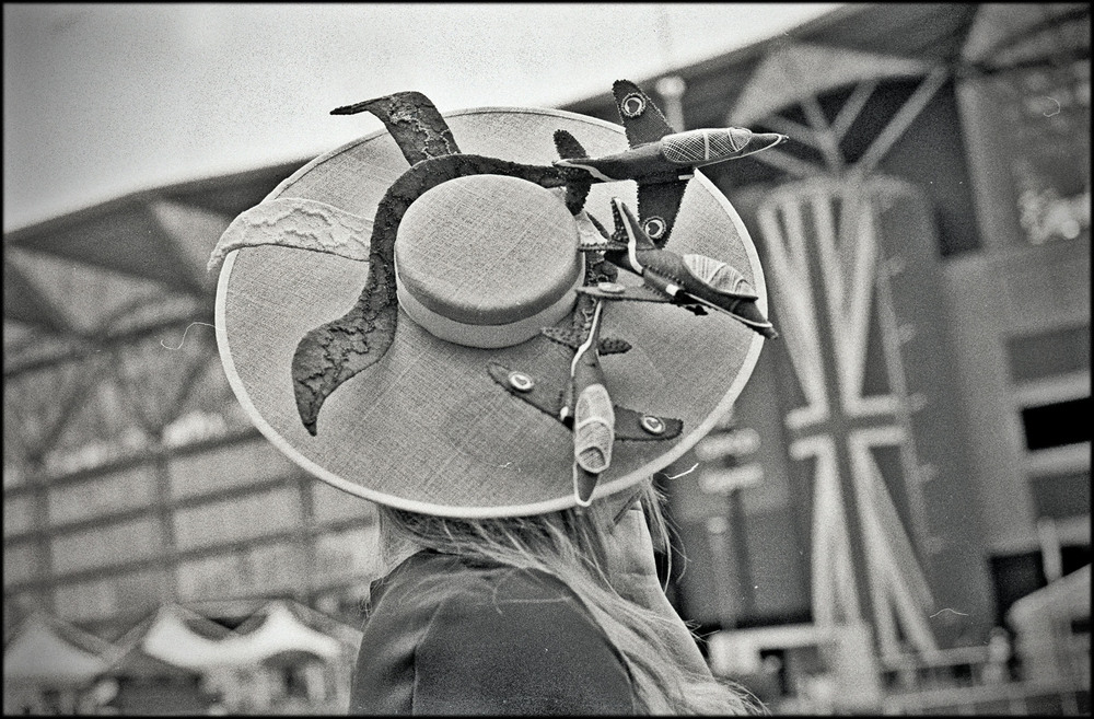 raf hat, royal ascot