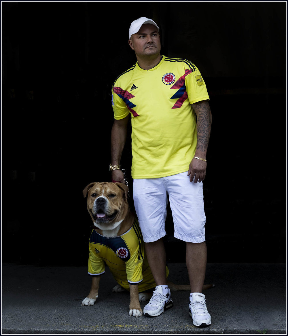 colombia football fans
