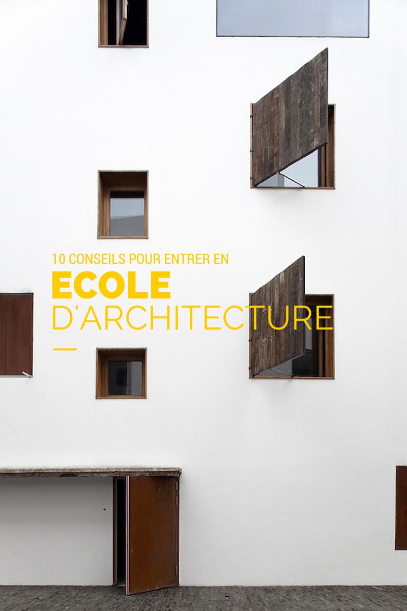 10 conseils pour entrer en ecole d'architecture - Hellonobo.com