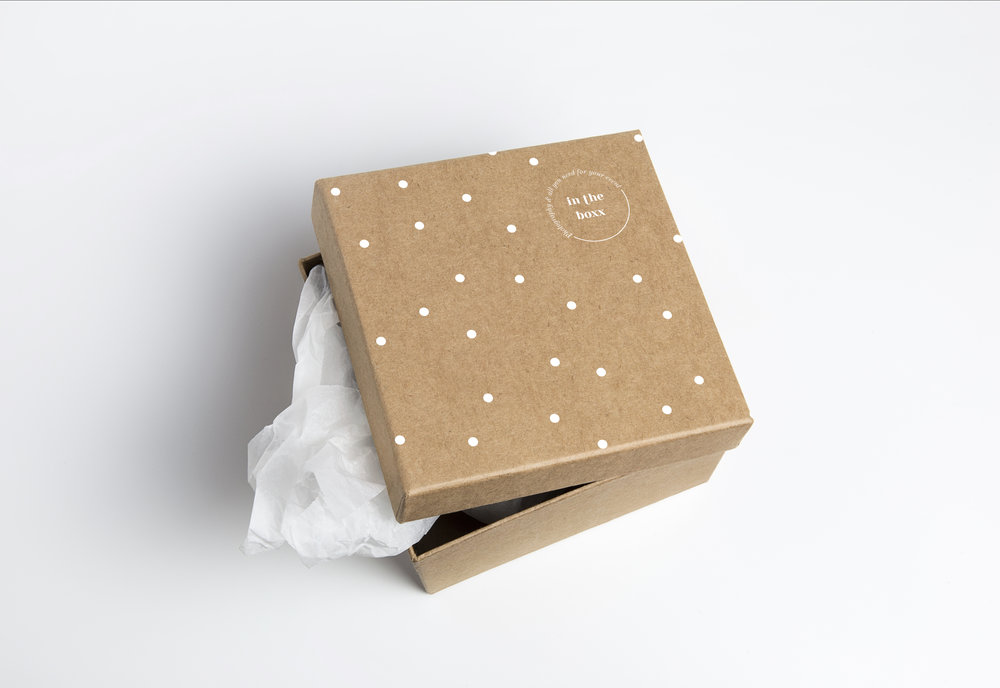 Packaging InTheBoxx Identité visuelle par Hello Nobo