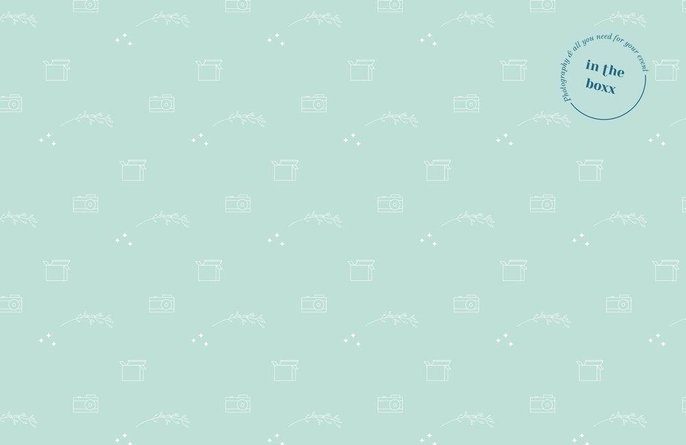 Motif InTheBoxx Identité visuelle par Hello Nobo