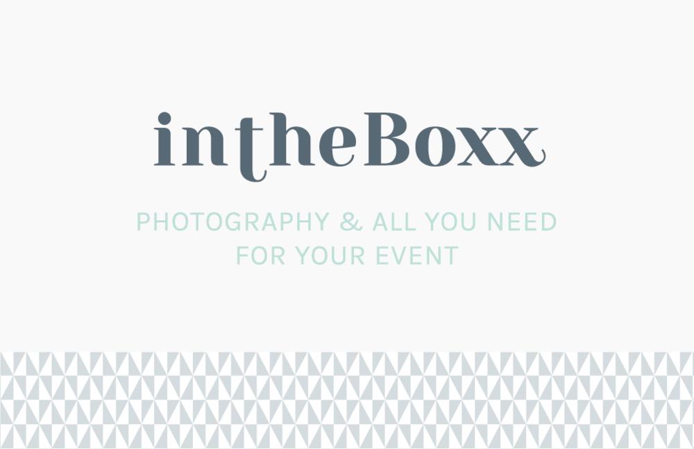 carte visite InTheBoxx Identité visuelle par Hello Nobo